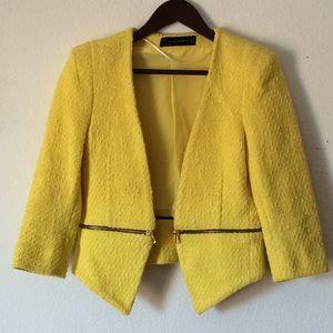 {Zara} Yellow Jacket